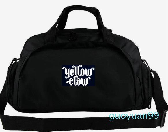 Nueva bolsa de asas de Trampa hiphop dubstep DJ de música mochila de equipaje de la lona del hombro diario paquete de honda Deporte