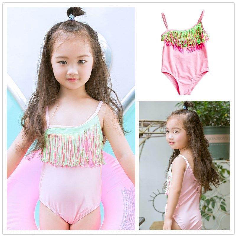 2yO4p kBrsa Sıcak kız büyük mayo bebek orta çocuk Çocuk Bikini mayo mayo satış bikini tek parça bebek ve