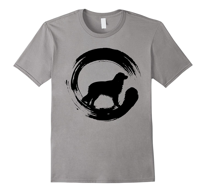 2020 New Fashion Cotton T-shirt Enso Cercle Aussie T-shirt Zen Cercle amant Chemise de chien T-shirt décontracté