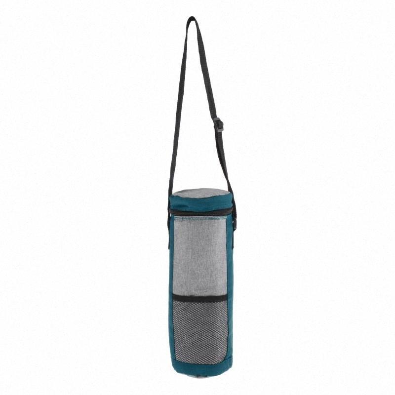 Dispositivo di raffreddamento isolato Tote perfetta tenuta Bottiglia del dispositivo di raffreddamento Carrier con la chiusura lampo 11.41inch tvDM #