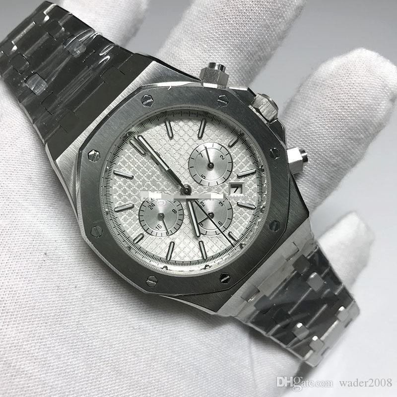 Automática del reloj para hombre mecánico de lujo Royal Oaks relojes de diseño de cuerda automática Masculino todos los sub marca de pulsera funciona