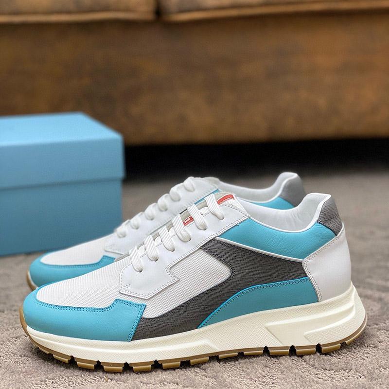 2020 H3 Fashion Trend Designer Herrenschuhe echtes Leder Breathable bequemer Outdoorschuh Lace-up beiläufige Wanderer Schuhe Herren Sneakers