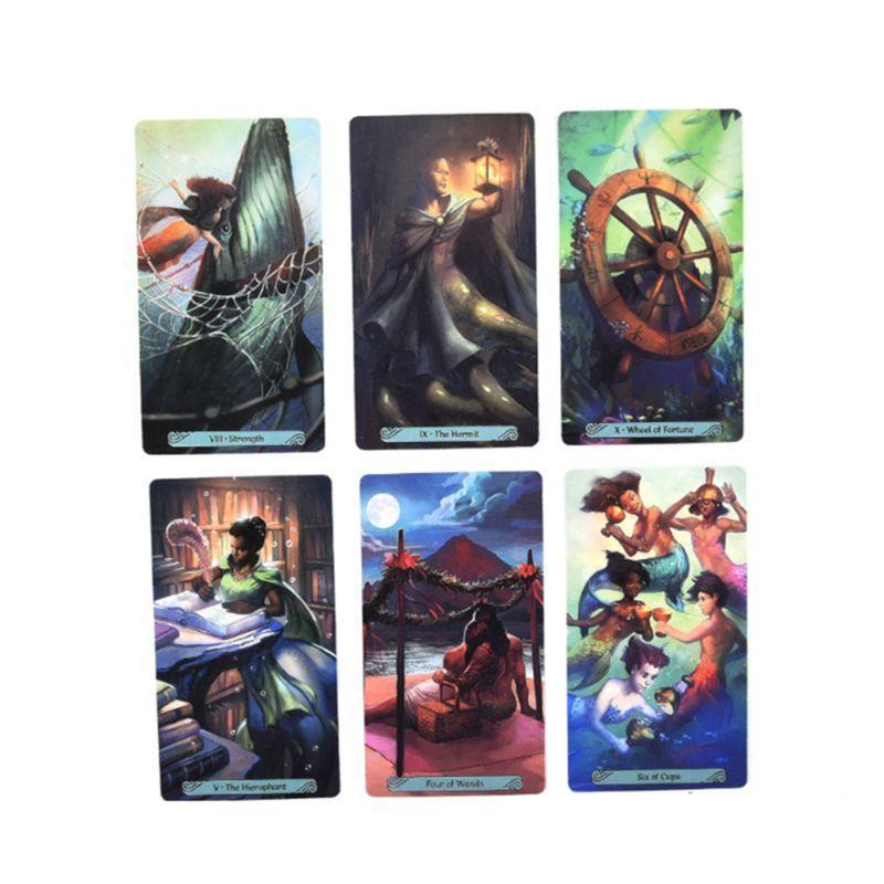 78pcs las tarjetas de Tarot completo Inglés Oracle De Fiesta de la familia de Adivinación Juego de mesa Drop Shipping