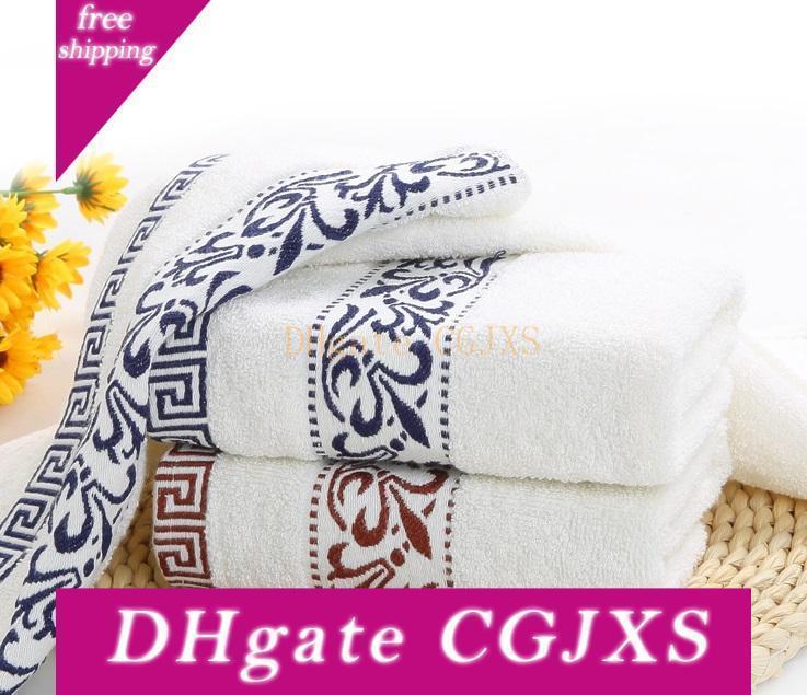 Hot 100% coton serviettes de douche pour adultes ménage ou cadeau Serviette de bain pour un séchage rapide
