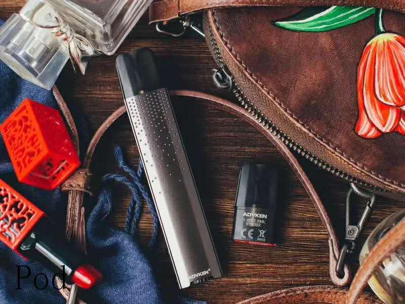 vape elektronische Zigarette Kit hülste mod Rauchgerät mod Feder einstellbare Spannung Rauchen Verdampfer nachfüllbaren Behälter pod Verdampfer Kit hülste