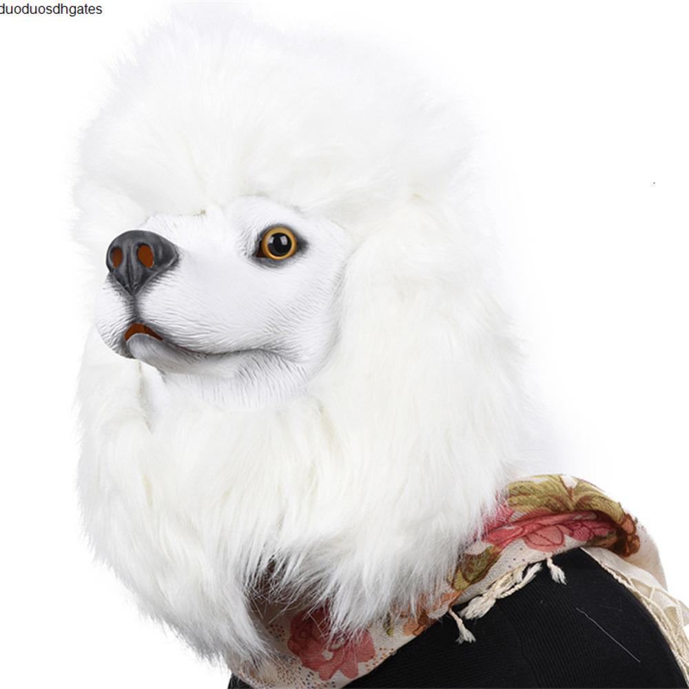 Yeni Ürpertici Maymun Köpek Kauçuk Komik Horoz Lateks Tavuk Hayvan Penguen Kafa Çocuk Parti Halloween Masquerade Oyuncak JY15 Maske