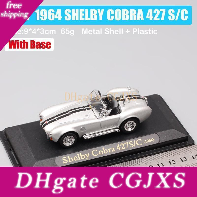 1 /43 Scale Vintage 1964 Ford Shelby Cobra 427 S /C Ac Cobra Roadster Sports Mini Car Diecast &Vehicles Model Souvenir Toy Of Kid