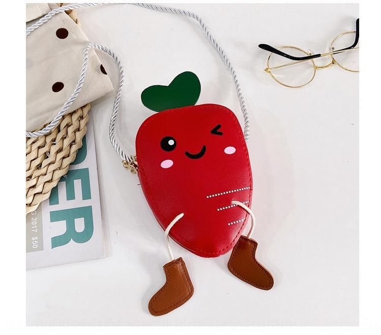 xt8sJ 2020 nuevos niños pattn fruta debe hombro linda de la historieta Bao Bao Tong Tong er bolsa de bolsa de los niños de las mujeres de moda 5qKdW