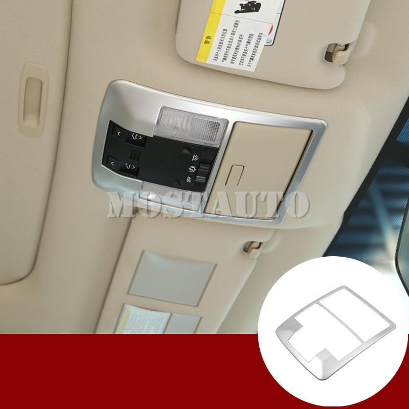 Toyota Land Cruiser Prado FJ150 İç Çatı Cephe Okuma Işığı Lambası Trim Kapak 2010-2019 1pcs için