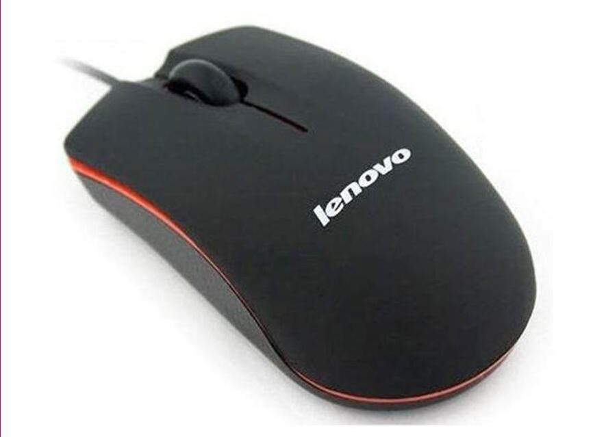 제품과 함께 컴퓨터 노트북 게임 마우스 레노버 M20 미니 유선 3D 광학 USB 게임 마우스 마우스