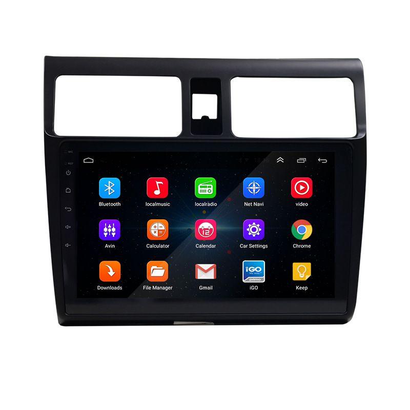 10 lettore multimediale pollici Android per Suzuki rapido con Touch USB Video Screen auto Bluetooth DVD GPS Autoradio MP5