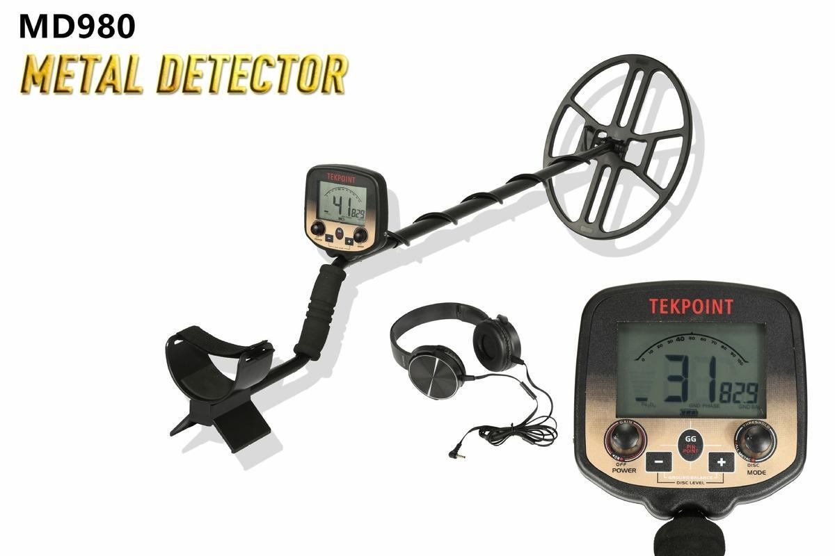 MD-980 Professional Underground Metal Detector High Sensitivity LCD Display Treasure Gold Finder Scanner Water Search
