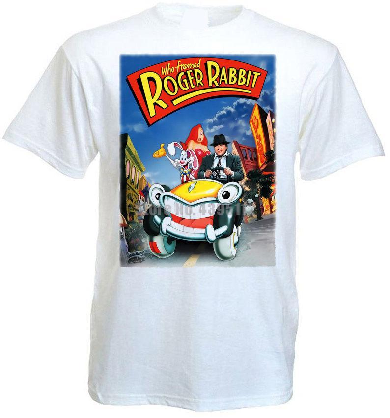2020 Who Framed Roger Rabbit 2 Movie Poster T Shirt All Sizes White From Lunupj20 9 95 Dhgate Com