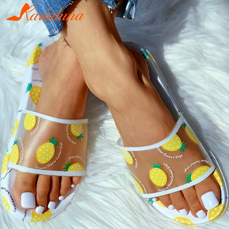 Karin 2020 Hot Sale Plano saltos baixos verão Mulher Chinelos Shoes Slip On Casual Dropship Chinelos Calçado de mulher