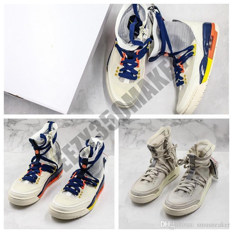 2019 Mars cour de basket-ball Chaussures 3 Journée internationale des femmes RTR EXP Lite haute OKC Filles Femmes Designer Athletic 3S Skateboard Chaussures de sport 36-40