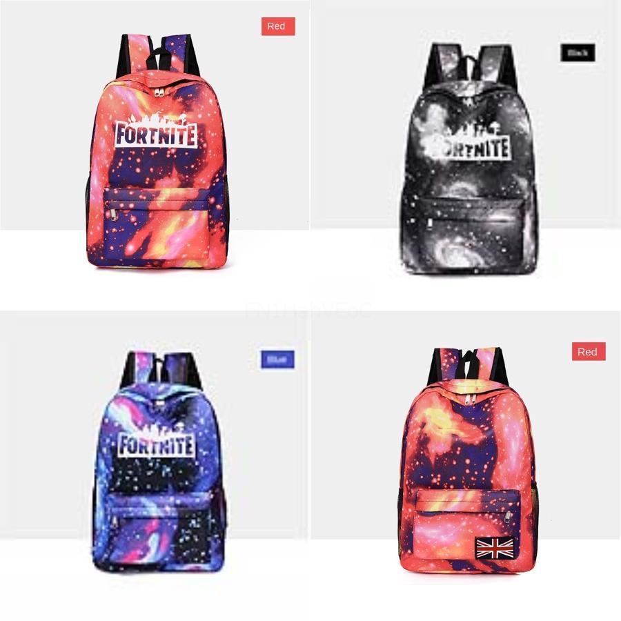 2020 del modello Fortnite cielo stellato Zaino Fortezza Notte 8848 Style T scuola di marca delle donne del sacchetto Zaino in poliestere nuovo arrivo della molla Preppy # 915