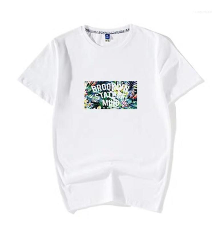 Adolescent Vêtements Designer Hommes Slim T-shirt Lettre Casual Imprimer été ras du cou Tops Fashion Respirant Homme