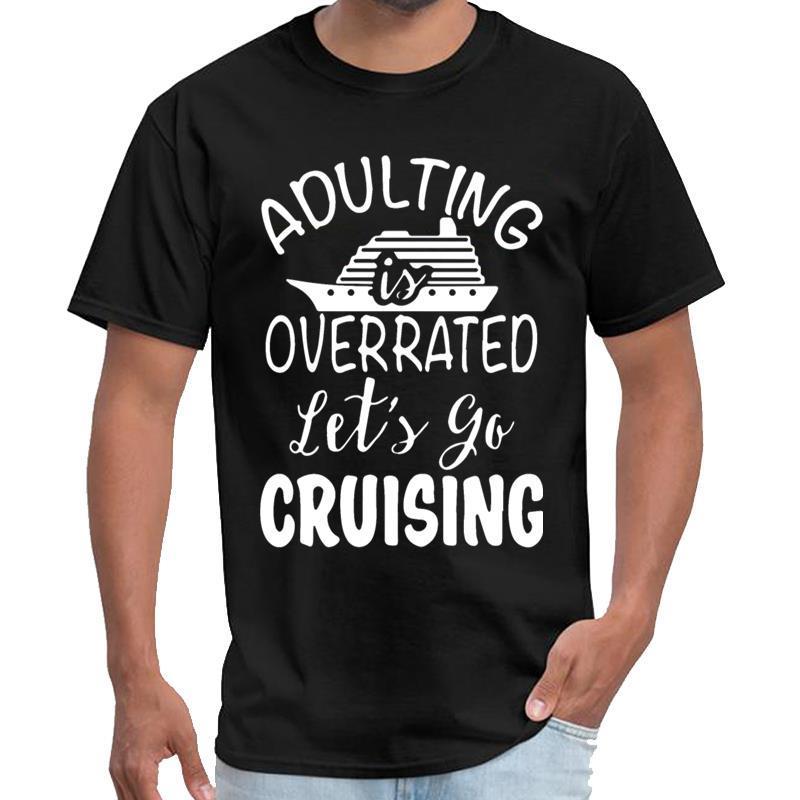 Grafik adulting abartılıyor diyelim XXXL 4XL 5XL hip hop tişört gömlek siyah erkek dişi beyaz tee seyir gitmek