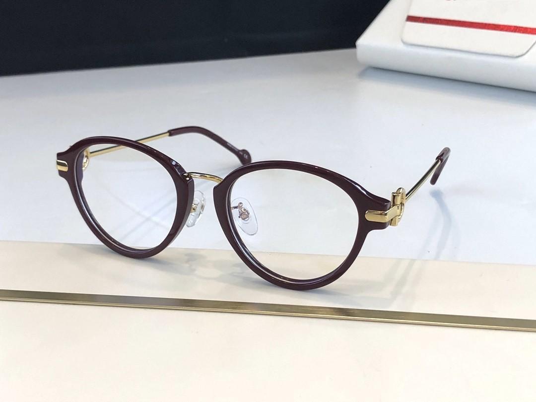 Rahmenbrillen plank alte Gläser Frauen Brille Rahmen wiederherstellen Myopie Wege Rahmen de Grau Männer und Neue 2826 Eye Oculos Frames Eitrj