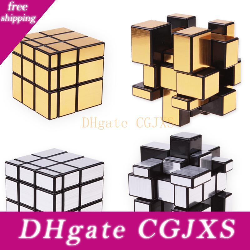 3x3x3 Magic Mirror Cubes Cast Coated Puzzle Cube Professional Speed Magic Cube Neo Cubo Magico Education Toys For Children