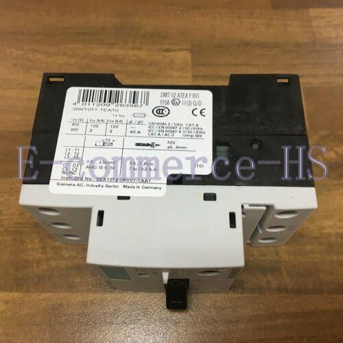 1PC New Siemens 3RV1011-1EA10 Manual Motor Protector Circuit 3RV10111EA10