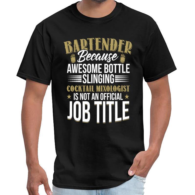 Gráfico do Mixologist do barman tshirt dos homens temporada 6 tshirt s-5XL padrão