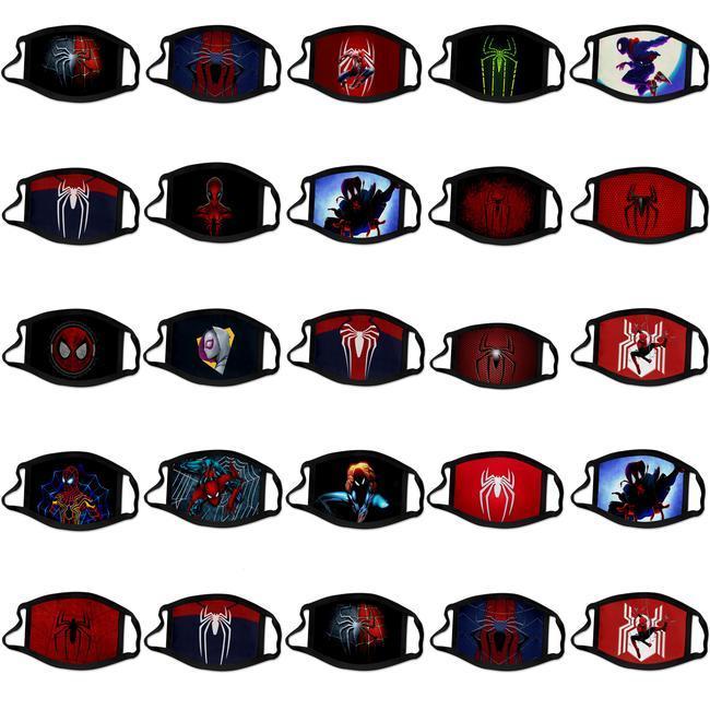 Lavable super coupe-vent Masque visage Party cosplay Spiderman Dhl poussière de luxe de Reusable Hero Kid Spiderman 6 yGkxw zlhome