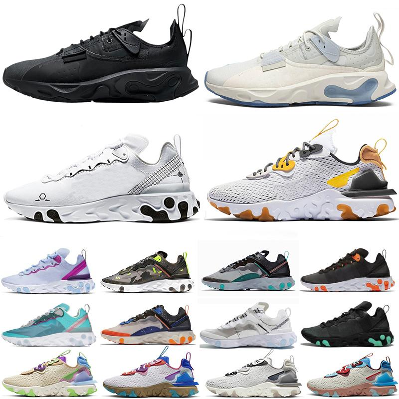 React vision Chaussures type N354 Gore-Tex element 55 87 running shoes for men women Honeycom Bred mens womens trainers sports sneakers