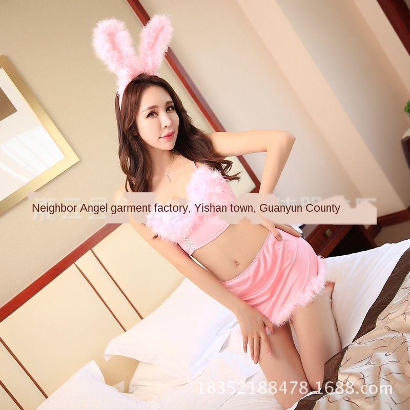 Sexy Unterwäsche Unterwäsche Plüsch konstante Versuchung Rolle spielen sexy Mädchen Kaninchen Cat Pyjamas Pyjamas kleiden 815 FAFbm
