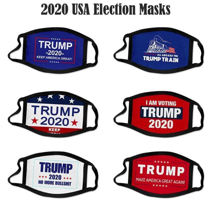 US STOCK! Election Trump Cotton Mask Keep America Great Again Cosplay Biden Party Face Masks Anti Dust Pollution Mouth Cover fy9008