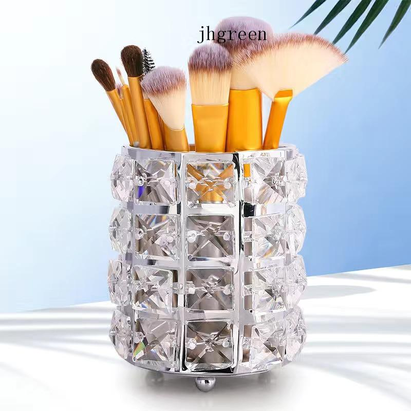 Office Pens And Tool Boxes Simple Acrylic Crystal Decoration For Table Boutique Hot-selling Tissue Box Storage Bucket
