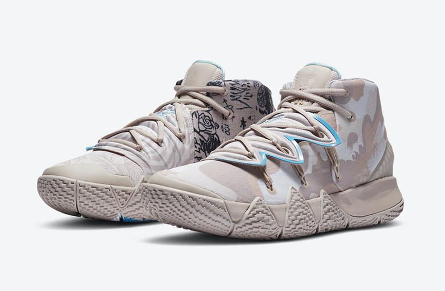 Enfants Kyrie S2 Surfaces hybrides à Desert Camo Hommes Femmes Chaussures de basket-ball de haute qualité Irving sneakers magasin avec boîte Taille 40-46