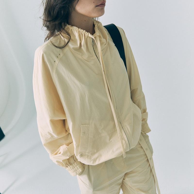 al8rB coréenne crème bas d'été nouveau manteau court col du manteau court féminin veste classic2020 crème solaire écran solaire avec cordon de serrage élastique à la taille