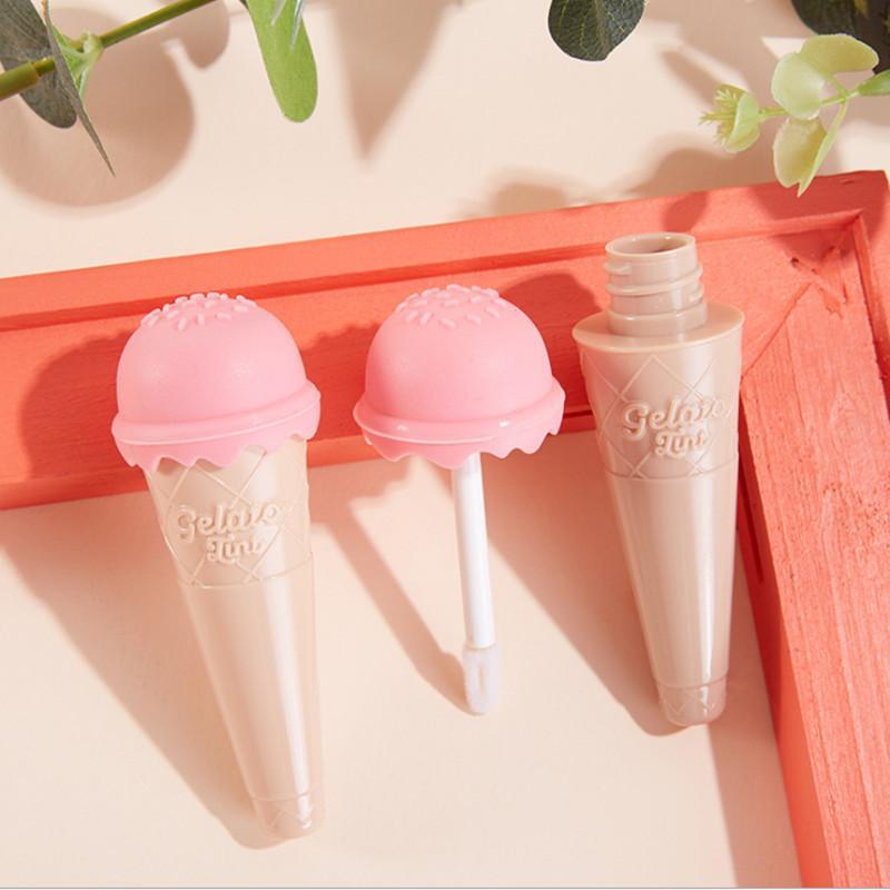 30pcs 8 ml de helado Vacío Lip Gloss Lip Balm tubos de plástico Tubo Labial Líquido Mini Muestra envase cosmético mayorista