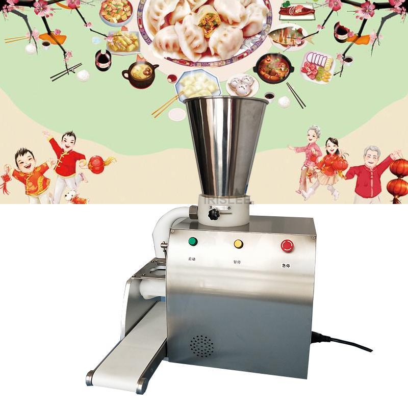 2020 Vente machine boulette semi-automatique de haute qualité imitation fait main boulette faire machine à jiaozi machine à des fins commerciales