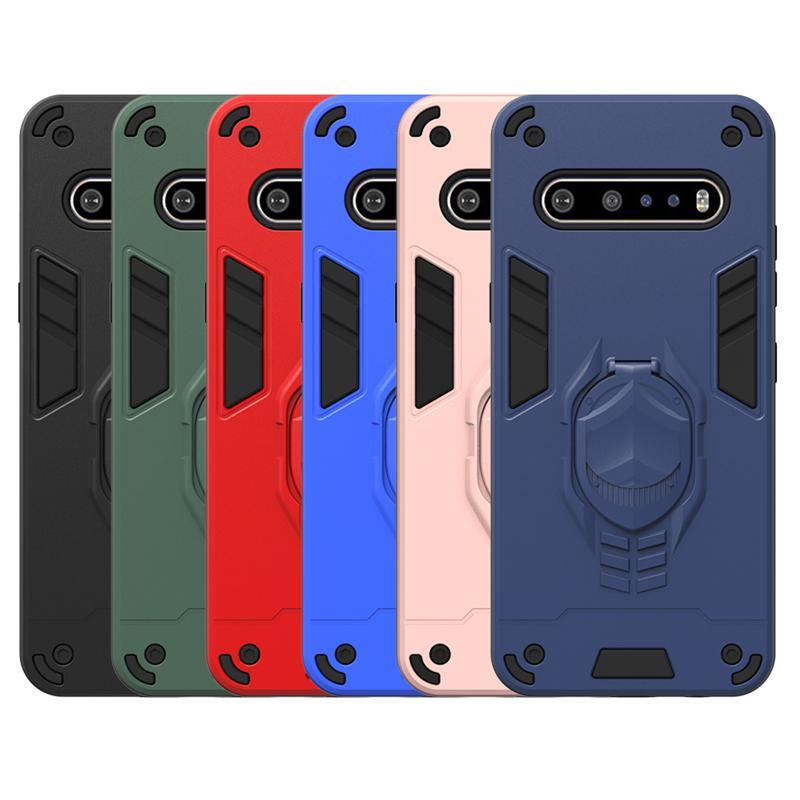 عرة حالة درع لLG V60 شيء becouse لاني 5G G8X V50S حالة الغطاء الواقي لLG K51 K40 K30 K31 ضد الصدمات حالات الهاتف الخليوي