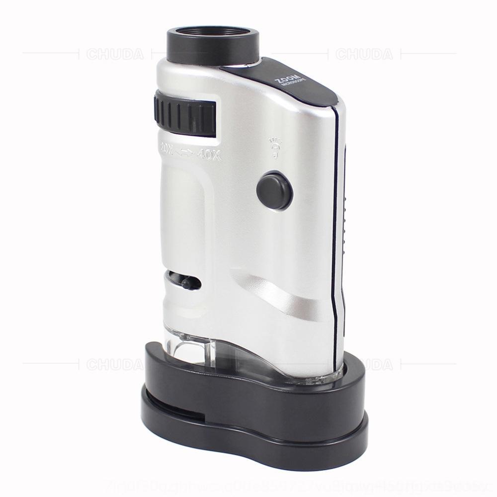 tOCJ3 Chuda regarde spécialement à Anhua thé noir led 20-40 microscope poche verre fois grossissants peut thé noir téléphone mobile phoneadjus NvAKY