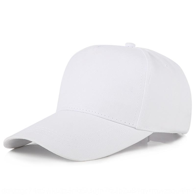 5 piezas de sombrero de béisbol de algodón puro béisbol 3D publicidad bordado cap cap impresa