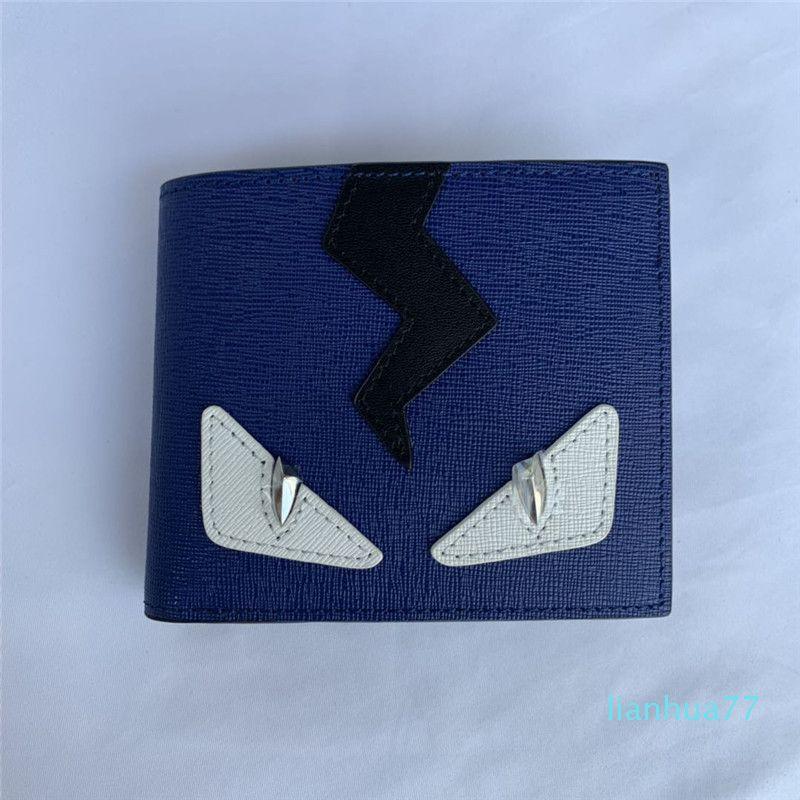 Diseñador de alta calidad de encargo tarjeta de la carpeta del envío libre de las mujeres y los hombres de cuero reales del remache cartera carteras unisex mens carteras de cuero