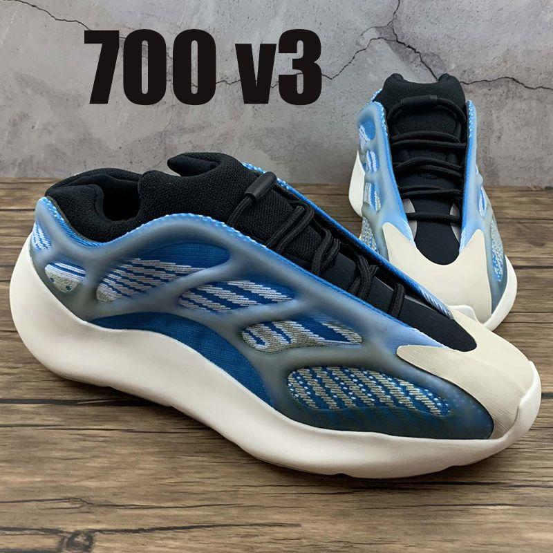 2021 Nouveau 700 V3 Azareth Azaeth Azael Alvah Og Réfléchissant Hommes Running Shoes Fashion Hommes Femmes Baskets Formateurs avec boîte US 5-11