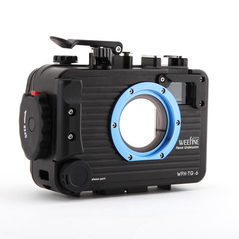 Weefine WFH TG6 housing for tg5 tg6 camera waterproof case for underwater photography TG-6