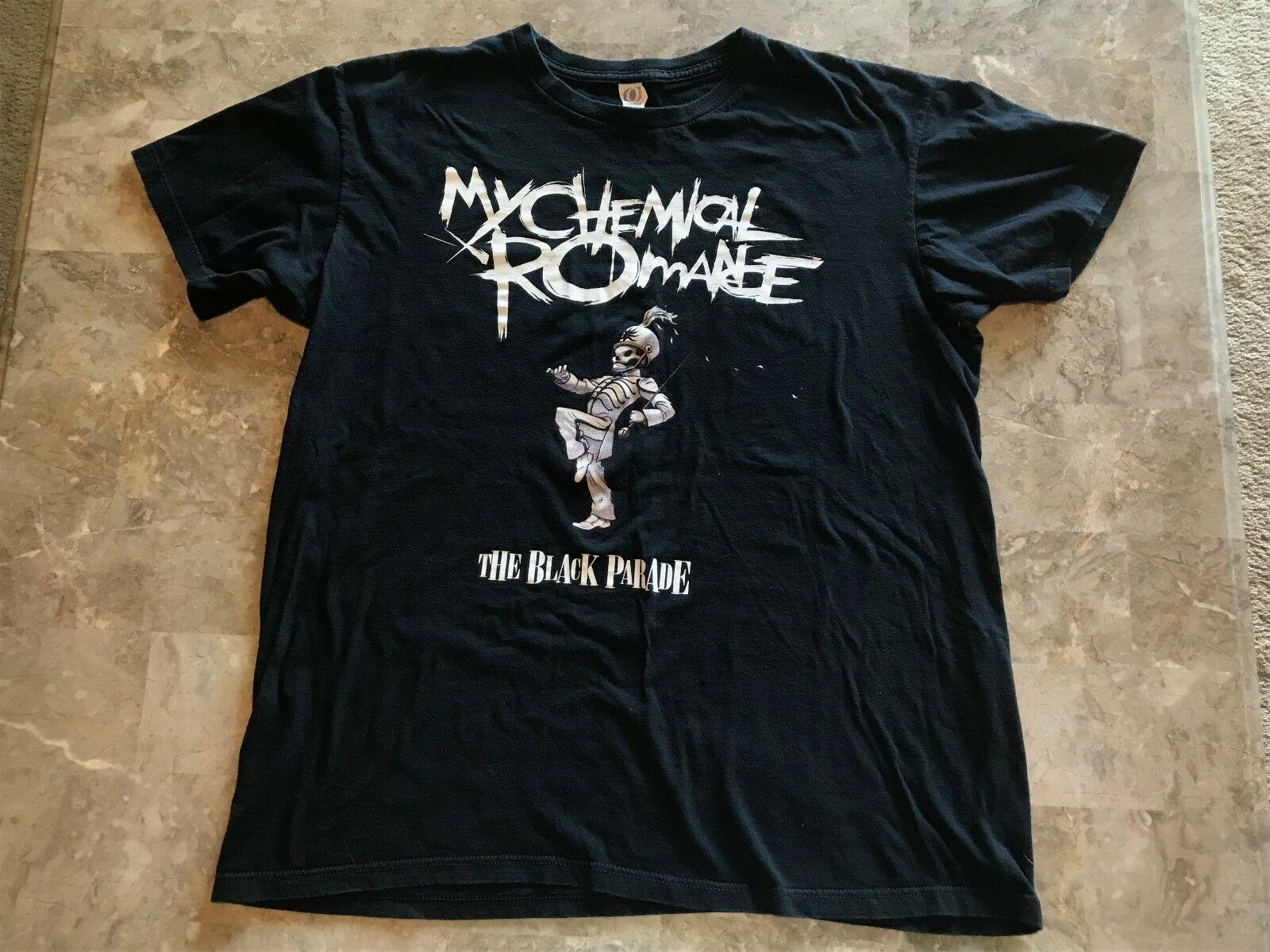 Rare 2006 My Chemical Romance The Black Parade Graphic T shirt per adulti 2019 nuovi uomini T-shirt Top Tee