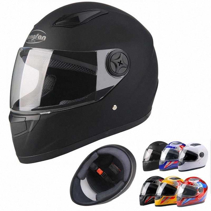 ABS Material Neuheit volle Gesichts-Motocross-Helm Retro Helm Retro-Schutzhelm Sicherheit für Winter / Sommer Capacetes De motociclista 3CHH #
