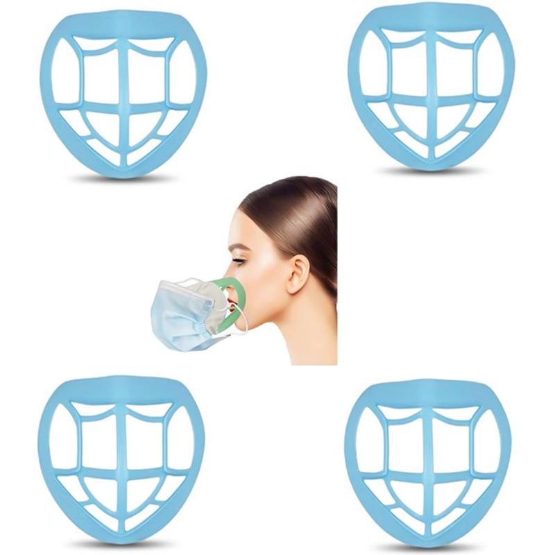 Populaire unisexe réutilisable support d 'extension respirante de sécurité Respiratoire support 3D Bouclier DÉFENDONS Forme bouche et le nez Support masque pont