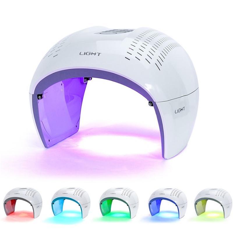 7 Renk PDT LED Işık Terapi Yüz Bakımı Anti-Aging Foton Terapi Makinesi LED Kırmızı Işık Tedavi Güzellik Ekipmanları