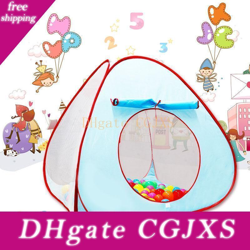 Kids Outdoor Lawn Garden Play Tent House Ball Pit Pool Tent For Children Toy Ball Pool Ocean Ball Baby Toys Gifts