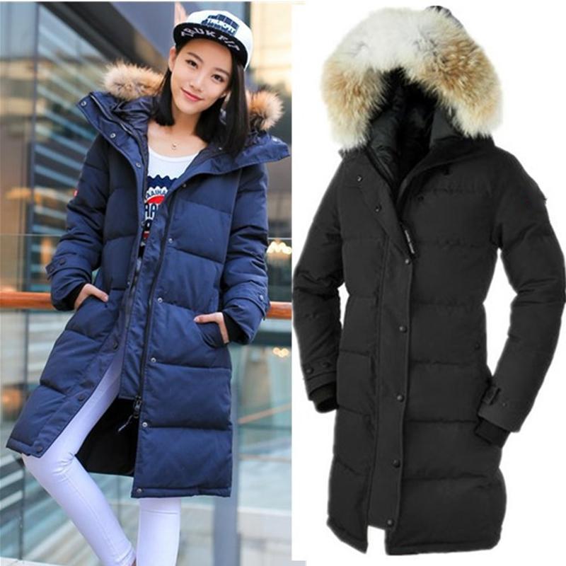 2020 New Fashion Designer donne giù giacca lunga caldo giù cappotti da donna all'aperto Giacca piuma d'oca inverno Outwear Silm Giacche Parka