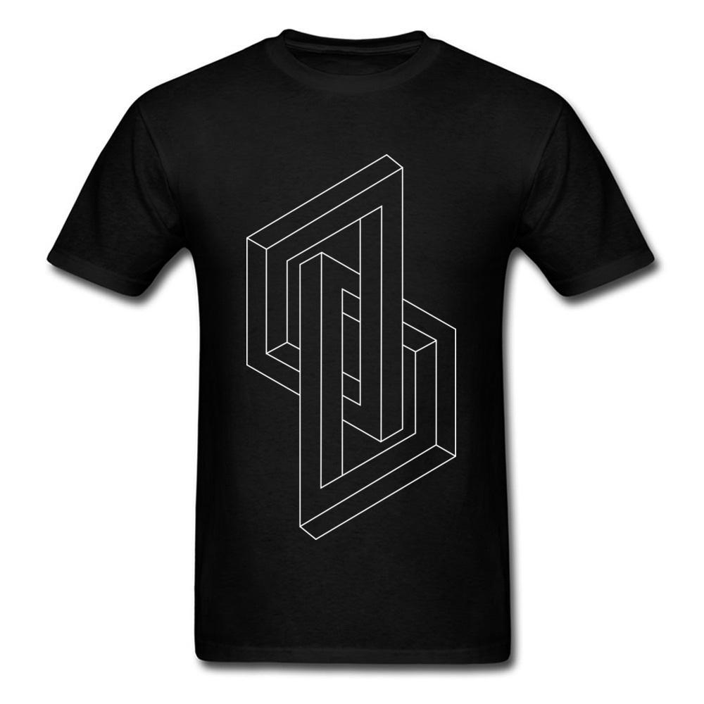 3d Abstract Shape Geometria Sagrada T Shirt Mens completa Gamer Wehrmacht Imprimir T-Shirt para Simple estilo estudante camisetas