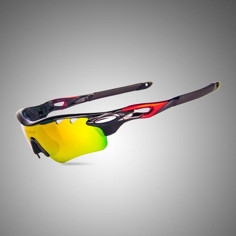 Yeni Marka spor 3 lensler ile kum balıkçılık gözlük dağ bisikleti spor güneş gözlüğü rüzgar geçirmez güneş gözlüğü kadın ve erkek polarize