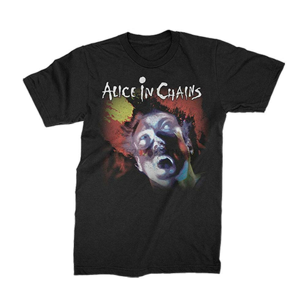 New Alice In Chains Facelift Album Facebreaker Shirt (SML-2XL) Badhabitmerch